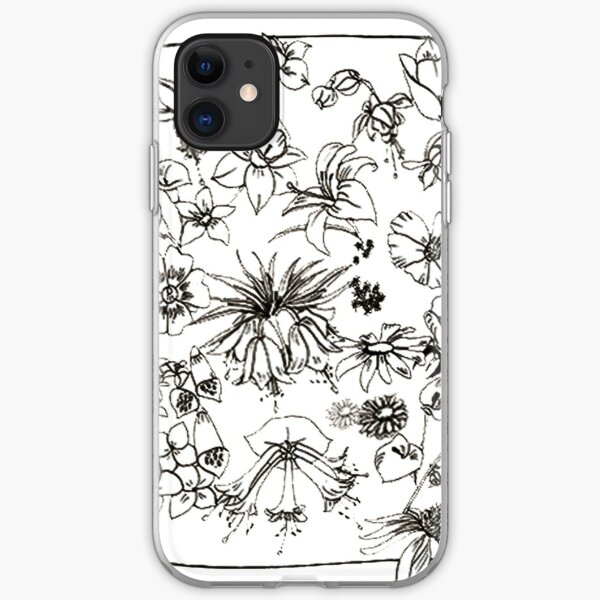 flowers1 iPhone Soft Case