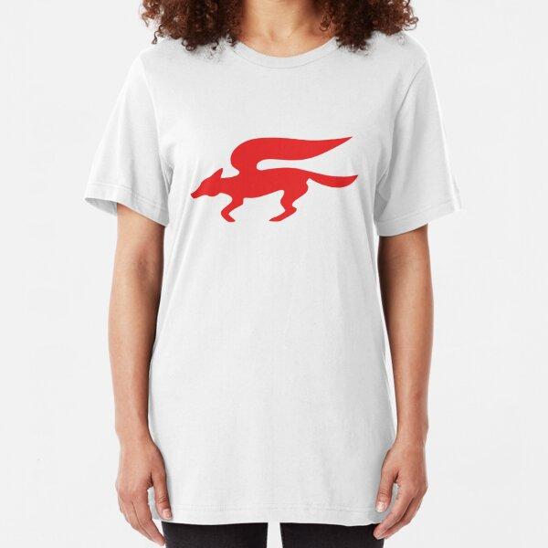 Star Fox Team Retro Logo Slim Fit T-Shirt