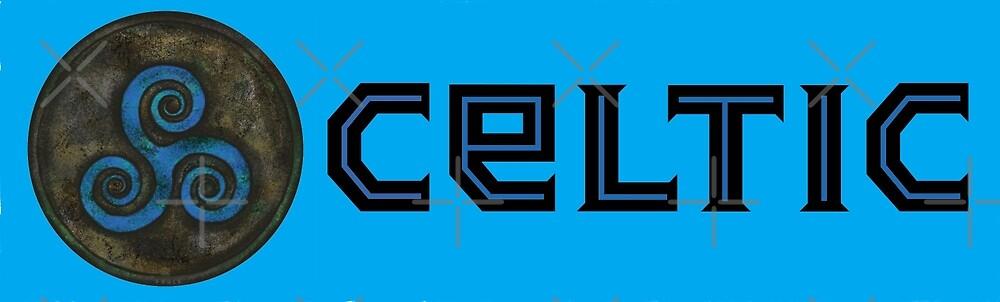 Celtic Triskele / Triskelion by Russ Fagle Magichammer.com