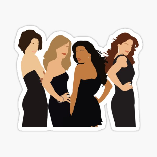 Desperate Housewives Silhouette Sticker