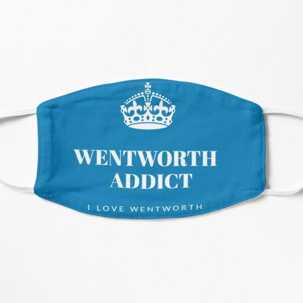 Wentworth blue face mask Flat Mask