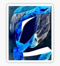 Blue Stone Sticker