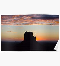 West Mitten Sunrise Poster