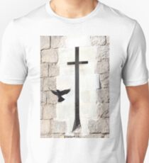 The cross and the crow T-Shirt