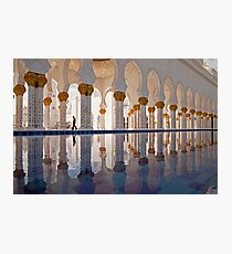 Sheikh Zayed Mosque in Abu Dhabi Photographic Print