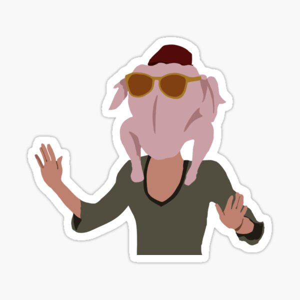 Monica Turkey Sticker