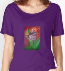 Two Tulips Women's Relaxed Fit T-Shirt