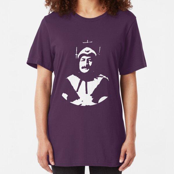 Phantom of Krankor, plain, white Slim Fit T-Shirt