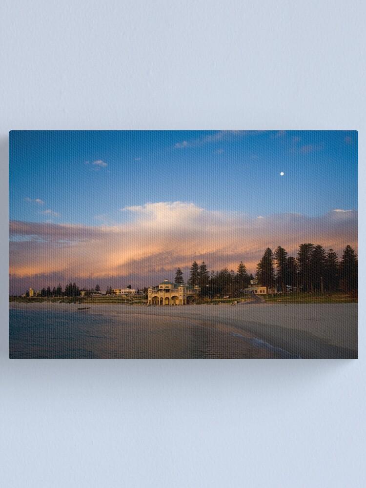 Alternate view of Fiery Sky Canvas Print