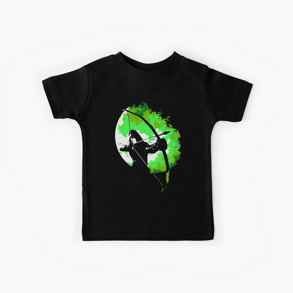 Er geht nachts ... (Grün) Kinder T-Shirt