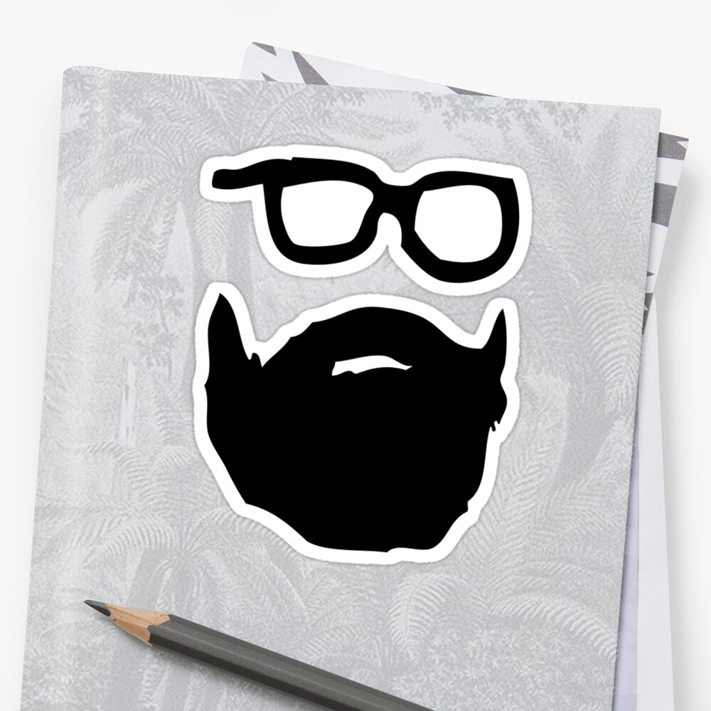beard & glasses by cadaver138