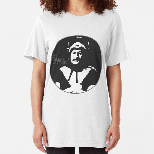 Phantom of Krankor: Useless to Resist Us Slim Fit T-Shirt