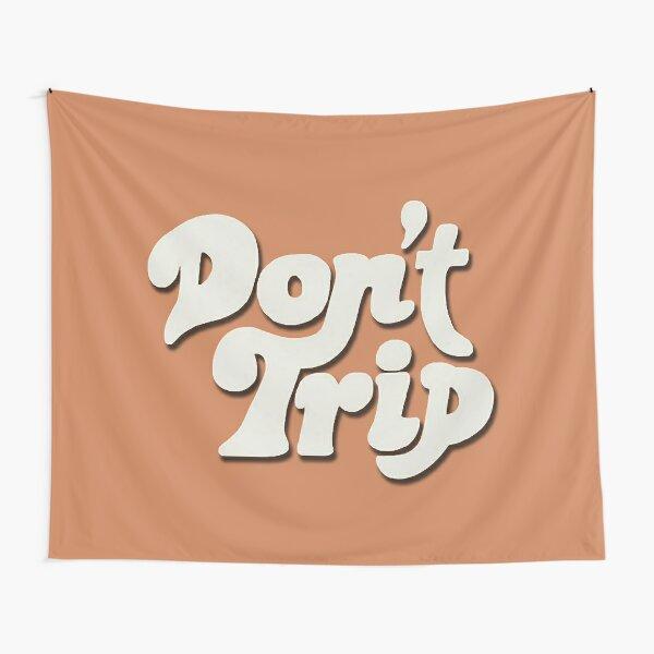 Mac Miller Don't Trip Circles Swimming Text Design Tapestry