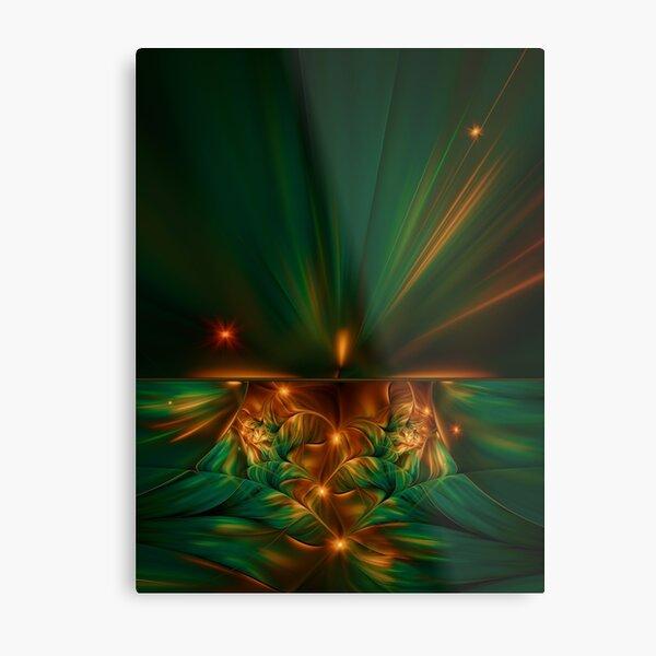 Aurora fractalis Metal Print