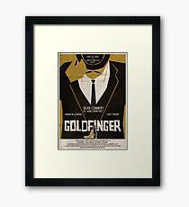 Goldfinger Framed Print