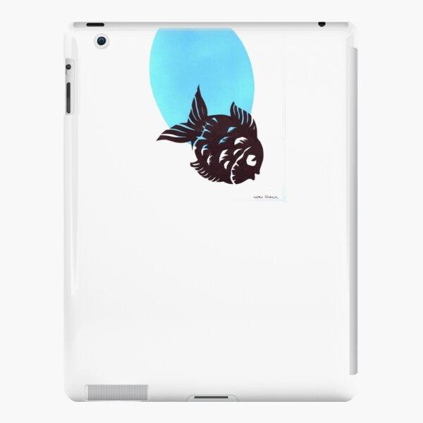 Silhouette Fish Design 2 iPad Snap Case