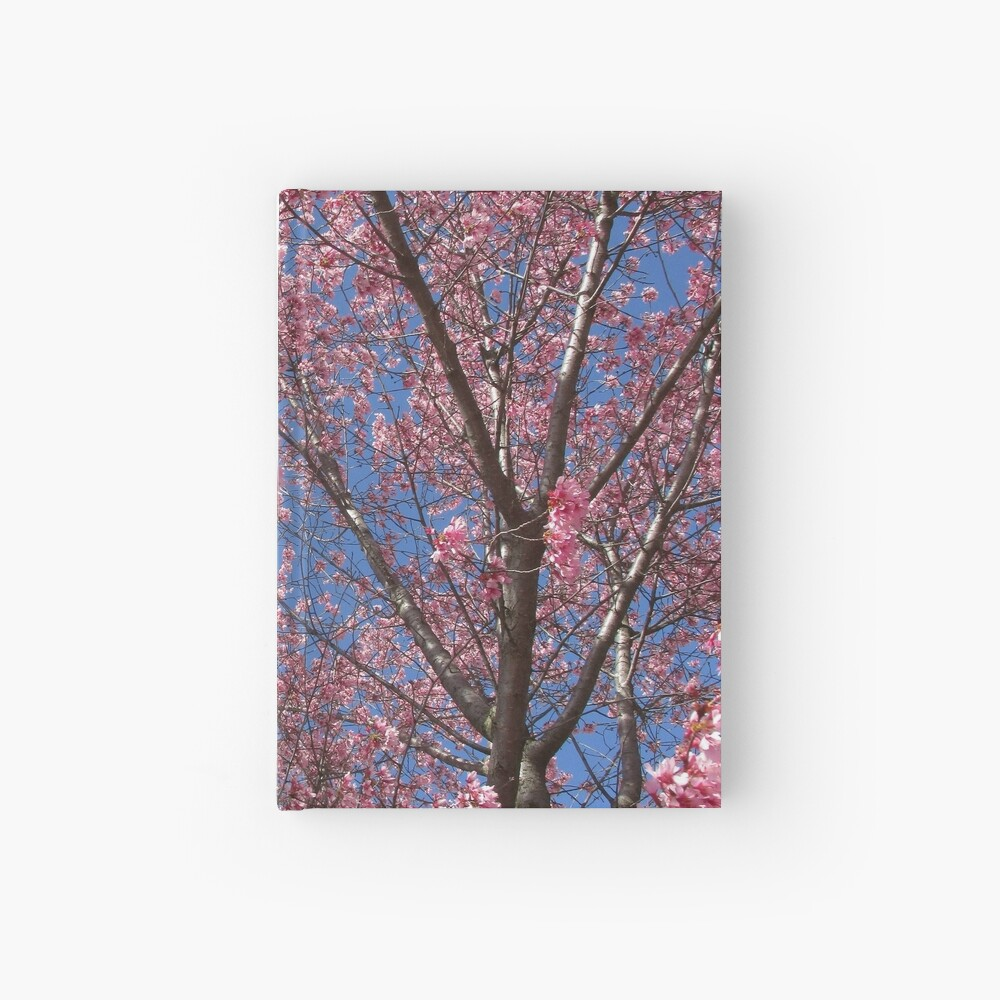 Pink Blossoms Hardcover Journal
