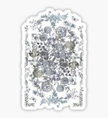 Botanical Flowers - Tattoo on Chaos Sticker