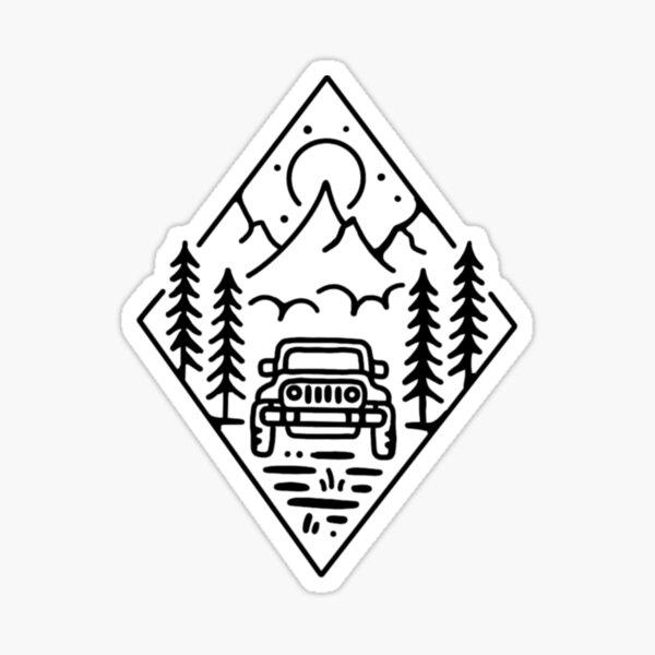 Jeep sticker Sticker