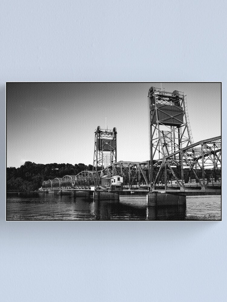 Alternate view of Lift Bridge Canvas Print