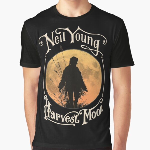 Neil Young Harvest Moon Shirt, Sticker, Hoodie, Mask Graphic T-Shirt