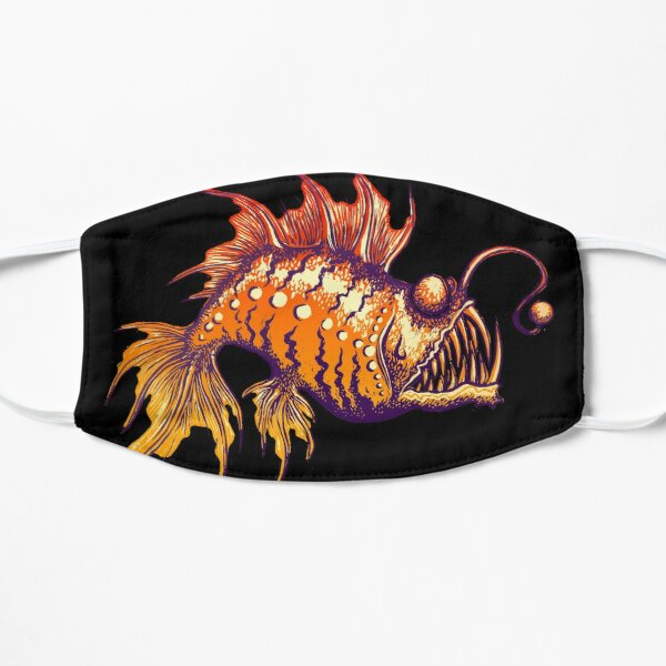 Angler Fish Print Mask