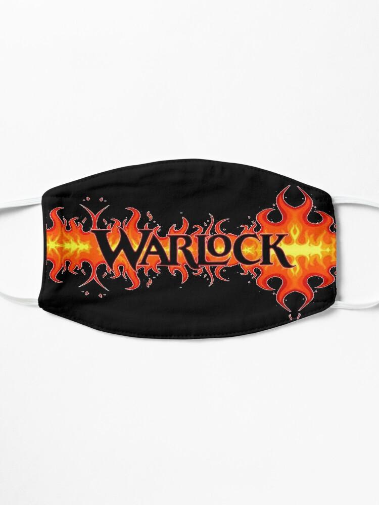 Alternate view of Warlock 1 design Mask