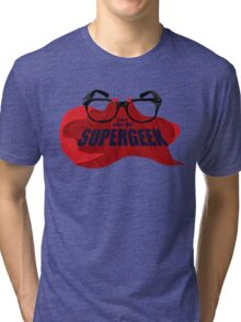 Super Geek Tri-blend T-Shirt