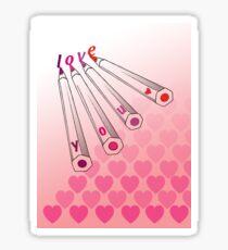 Love letters Sticker