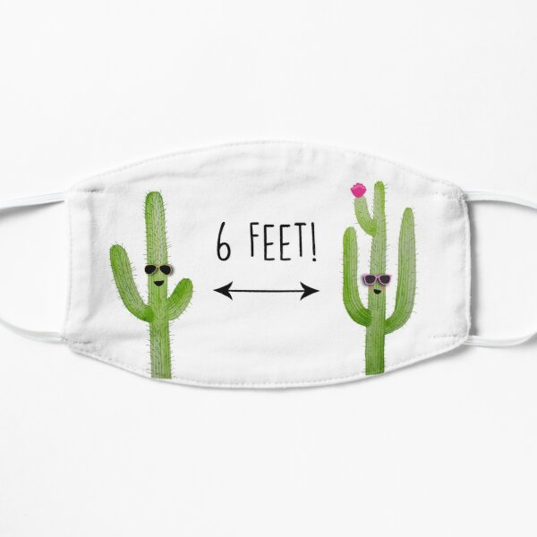 6 Feet! Flat Mask