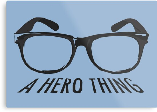 A super hero needs a disguise! by Andy Scullion