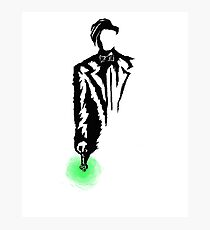 11th Doctor Ink Photographic Print
