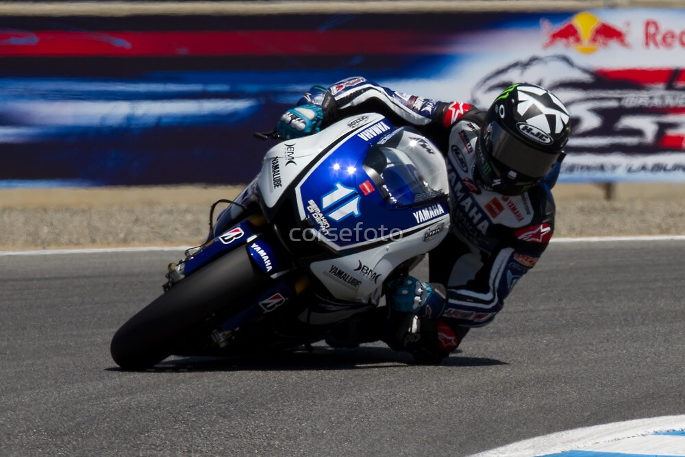Ben Spies at laguna seca 2012 by corsefoto