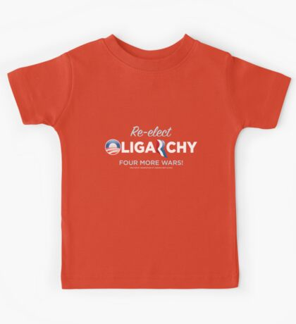Reelct Oligarchy 2012 Kids Clothes