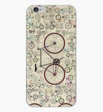 Vinilo o funda para iPhone Bicicleta de carretera Love Fixie