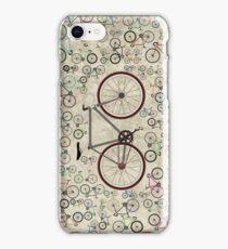 Love Fixie Road Bike iPhone Case/Skin