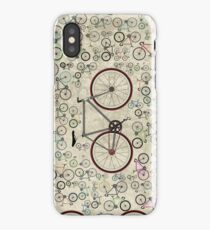 Love Fixie Road Bike iPhone Case