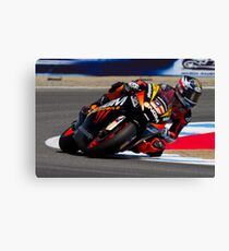 Colin Edwards at laguna seca 2012 Canvas Print