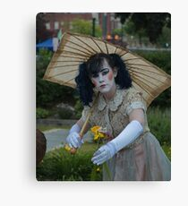 A Gift of Flowers Canvas Print