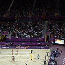 Greece v Switzerland Beach Volleyball  by Victoria limerick