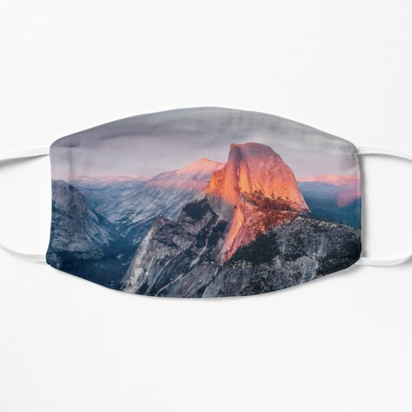Half Dome, Yosemite Flat Mask
