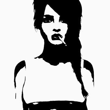 Anastasia Stencil by AlyssaSbisa