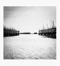 Oyster Farm Photographic Print