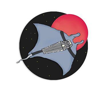Space Sea Flap Flap by JudgeDrek