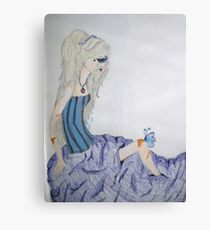 A lonely butterfly Canvas Print