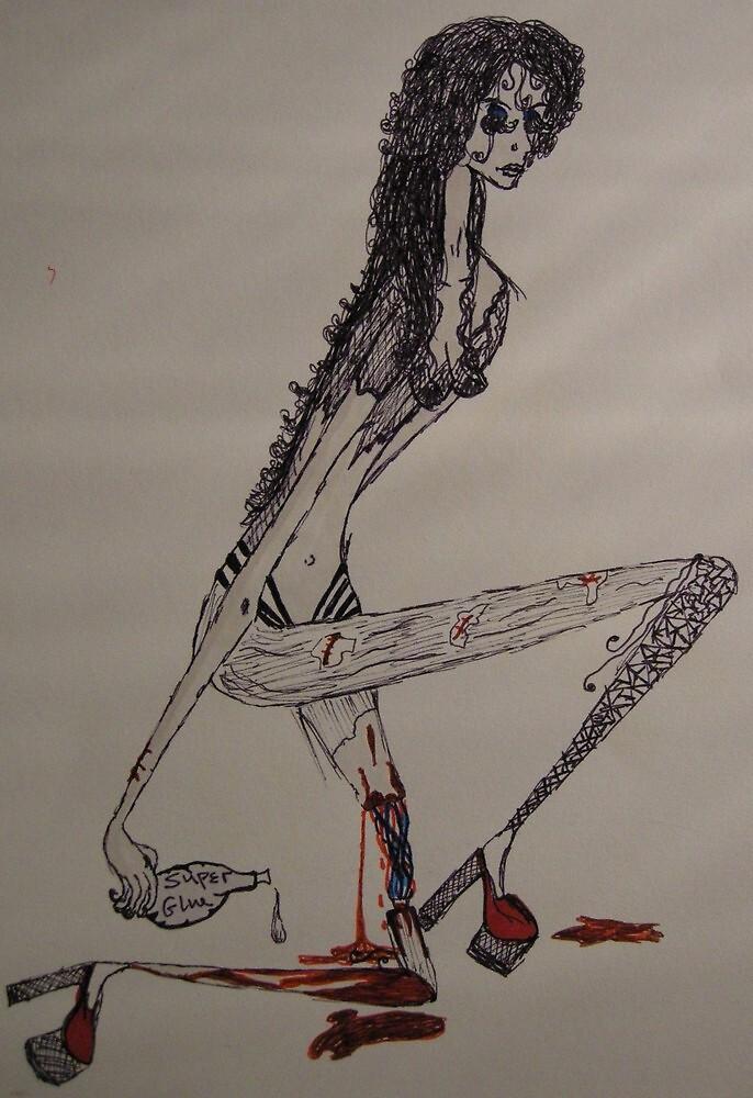 One-legged prostitute... by Lunalight3