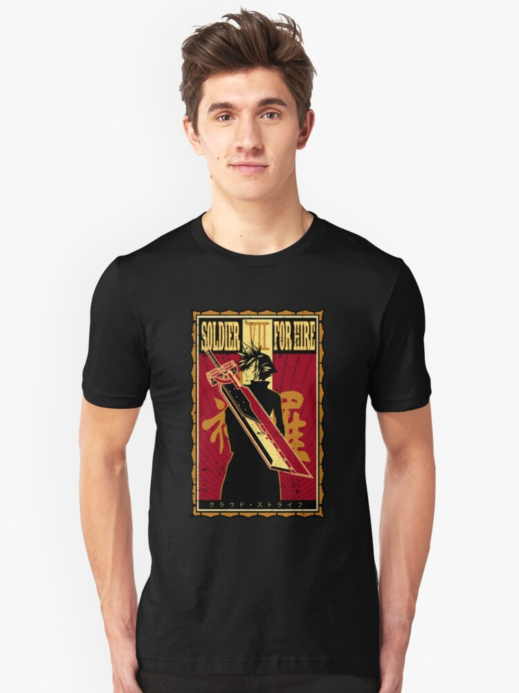 Soldier for Hire Unisex T-Shirt Front