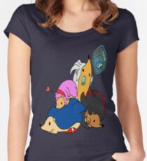 Sonic & Hedgehogs Women's Fitted Scoop T-Shirt