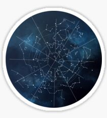 Celestial Map Sticker