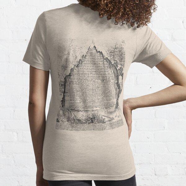 OSCURO Sic Mundus Creatus Est Camiseta esencial